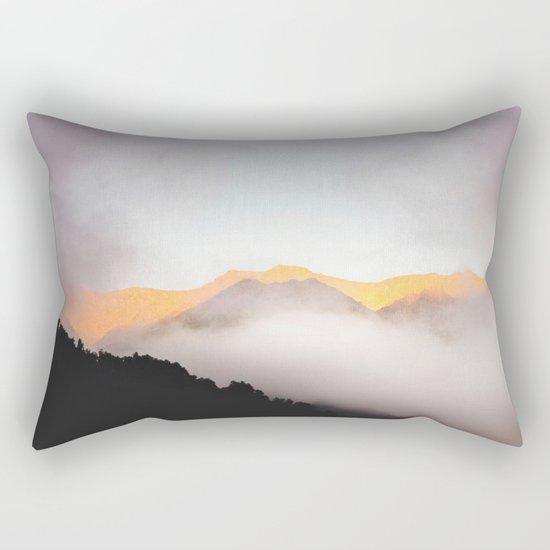 Hidden Treasure Mountain Rectangular Pillow