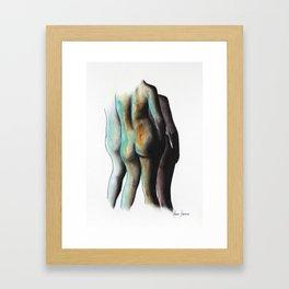 Three Women of Time Framed Art Print