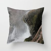 lip Throw Pillows featuring The Lip by Jeffrey J. Irwin