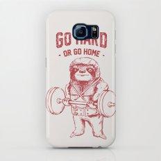 Go Hard or Go Home Sloth Galaxy S7 Slim Case