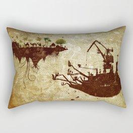 Movements Rectangular Pillow