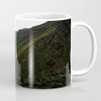 peru Mugs featuring Rural Peru by miranda stein