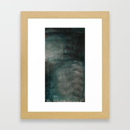 from a distance (earth interrupted V) Framed Art Print