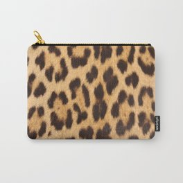 primitive trendy stylish fashionable safari animal leopard Carry-All Pouch