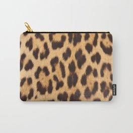primitive trendy stylish fashionable safari animal leopard Carry-All Pouch