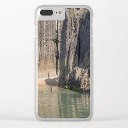 Portugal Beach Clear iPhone Case