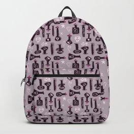 Purple bottle alchemy Backpack