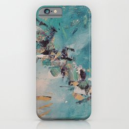 Get out of my zone / Sortir de ma zone iPhone Case