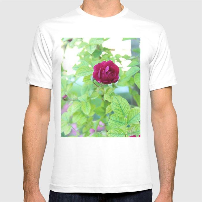 Dark Pink Rose T-shirt
