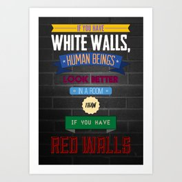 Humans Quote #1 Art Print