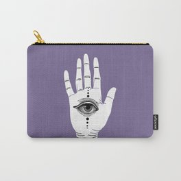 Hamsa Horus Violet Carry-All Pouch
