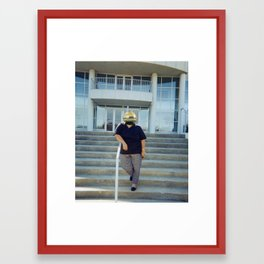 Faceless II Framed Art Print