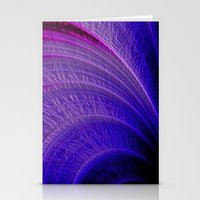 saturn Stationery Cards featuring Saturn by R-5370