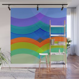 Abstract Composition 665 Wall Mural