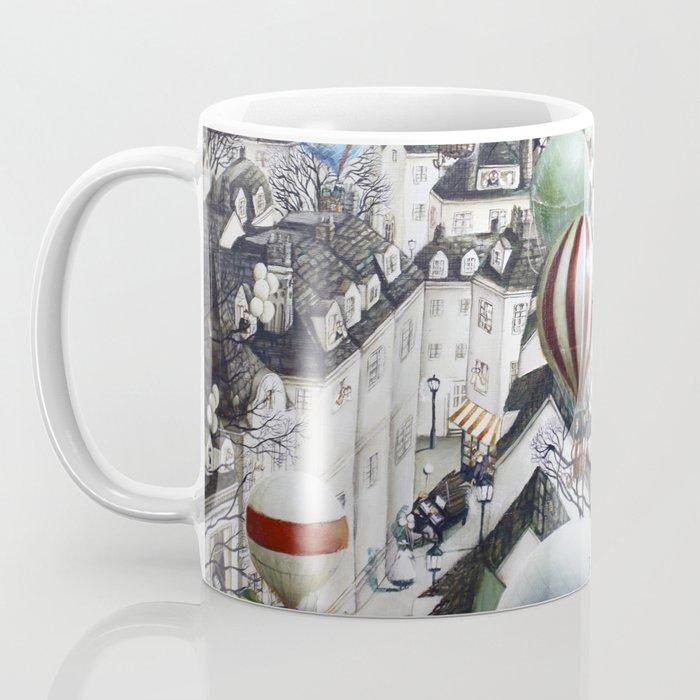 Balloon travel Coffee Mug