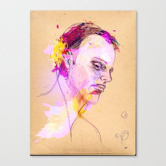 Disk jockey Canvas Print