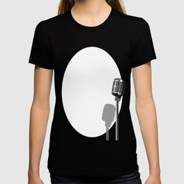 Musical Event Microphone Poster T-shirt