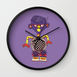 Robot № 015 Wall Clock