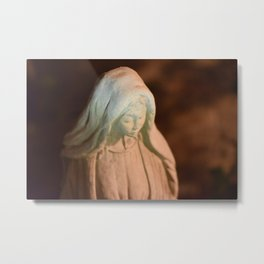 Hail Mary, Full of Grace Metal Print