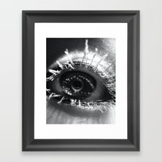 Barbwire Framed Art Print