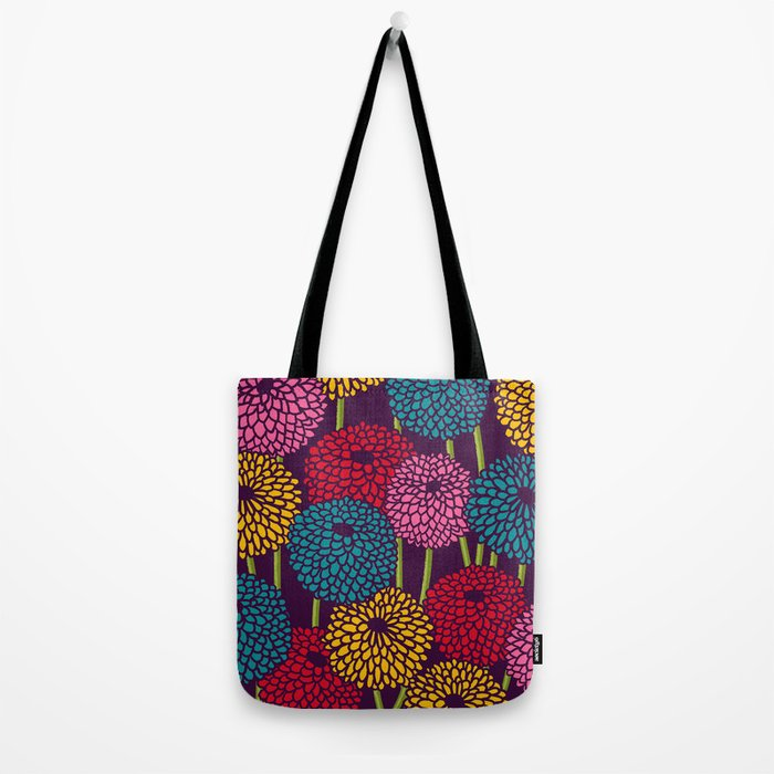 Full of Chrysanth Tote Bag
