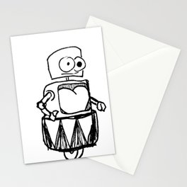 Roller Robot Stationery Cards