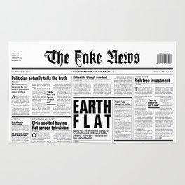 The Fake News Vol. 1, No. 1 Rug