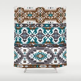 Modern Native American Pattern 5 Shower Curtain