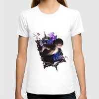 iris T-shirts featuring Iris by Velocesmells