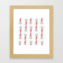 Multiple Gnomes Framed Art Print