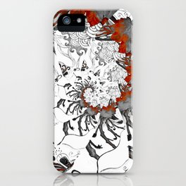 Earth Form Spiral iPhone Case