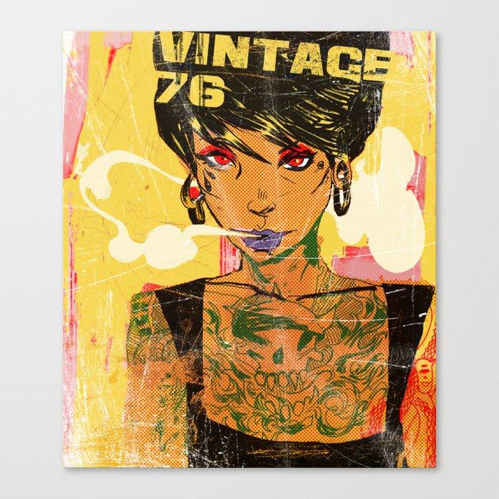Vintage 76 ( Karla ) Canvas Print