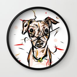 Peach Solomita Wall Clock