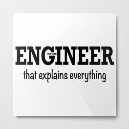 Future Engineer Metal Print