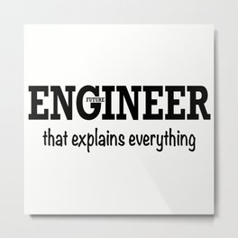 Future Engineer Metal Print