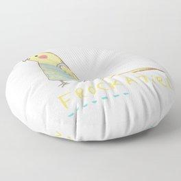Frockatiel Floor Pillow