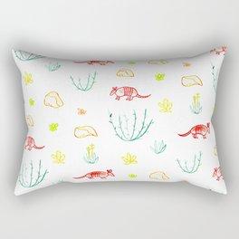 Armadillo Desert Pattern Rectangular Pillow