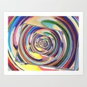 Spinning Colors Abstract by perkinsdesigns