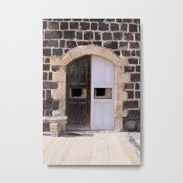 A Door Metal Print