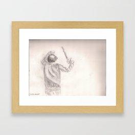 Justice Assassin  Framed Art Print