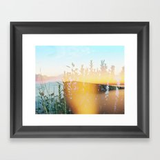From 3pm to the Sunset Framed Art Print