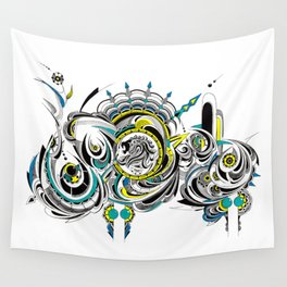 Leo realm Wall Tapestry