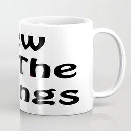 Sew All the Things in Black Coffee Mug