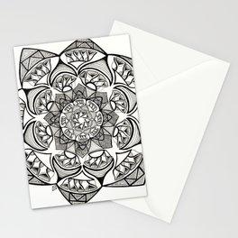 Kaleidoscope Mandala Drawing Stationery Cards
