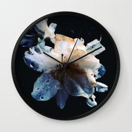 The blue death Wall Clock