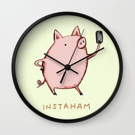Instaham Wall Clock