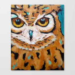 Hunter's Stare Canvas Print