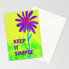 Wildflower Keep It Simple Stationery Cards