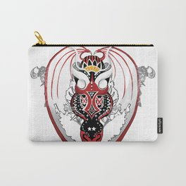 Smoking Bloodshot Dragon Carry-All Pouch