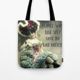 Janet: Vintage Darling Tote Bag